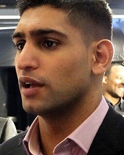 Amir Khan (boxer) British boxer