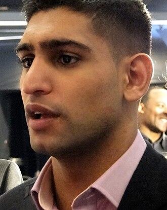 Amir Khan (boxer) - Khan in 2009