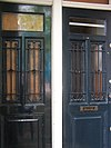 amsterdam lauriergracht 73 left doors