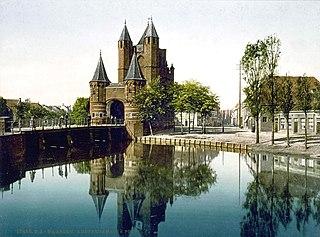 Haarlemmertrekvaart Canal of the Northern Netherlands