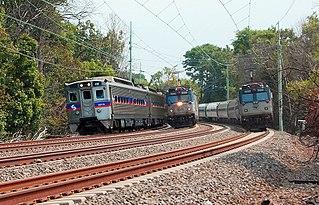 Philadelphia to Harrisburg Main Line railway line