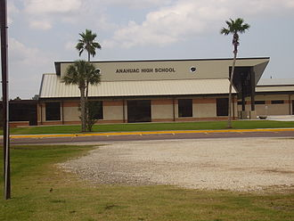 Anahuac, Texas - Anahuac High School