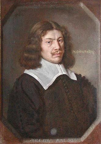 Ribe - Anders Bording, 1645