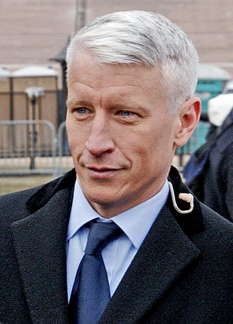 Anderson Cooper - Image: Anderson Cooper at the Obama Inaugural