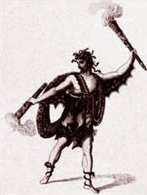 Baritenor - Baritenor Andrea Nozzari as Poliflegante in Mayr's Il sogno di Partenope