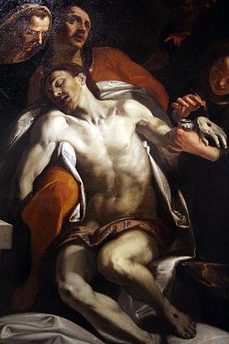 Giovanni Andrea Ansaldo - Deposition from the Cross