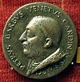 Andrea guacialotti, medaglia di pietro barbo, cardinale di san marco (poi paolo II), 1455.JPG