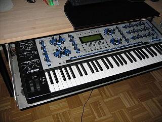 Alesis Andromeda A6 2000 multitimbral analog synthesizer