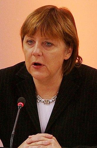 German federal election, 2005 - Image: Angela Merkel Headshot 2004