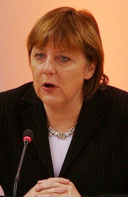 Angela Merkel Headshot 2004