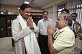 Anil Shrikrishna Manekar Greets Mahesh Sharma - NCSM - Kolkata 2017-07-11 3557.JPG