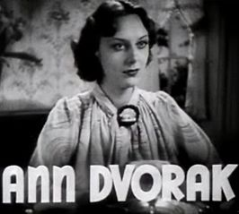 Ann Dvorak in Housewife (1934)