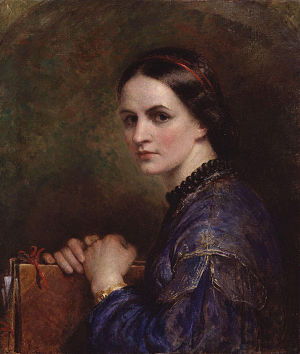 Ann Mary Newton - Self portrait