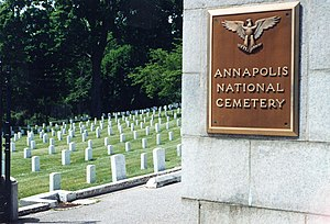 National Register of Historic Places listings in Anne Arundel County, Maryland - Image: Annapolis National Cemetery