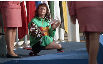 Australia at the 1992 Summer Paralympics - Anne Currie, triple gold medallist at the Barcelona Games