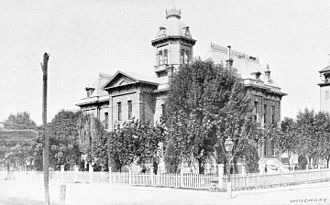 Courthouse in Tucson, 1898 Annual Report of the Secretary of the Interior for the year ended June 30, 1897 (1898) (14802518083).jpg