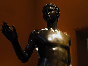 Carinthia - Youth of Magdalensberg, replica of a Roman bronze statue unearthed near Magdalensberg (Kunsthistorisches Museum, Vienna)