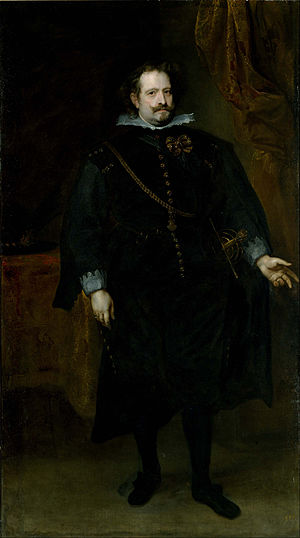 Diego Felipez de Guzmán, 1st Marquis of Leganés - The marquis of Leganés by Anthony van Dyck, around 1634.
