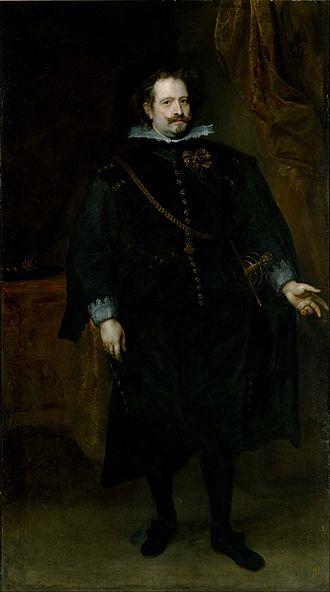 Diego Felipez de Guzmán, 1st Marquis of Leganés - The marquis of Leganés by Anthony van Dyck, around 1634.