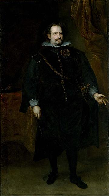 Anthony van Dyck - Diego Felipe de Guzmán, Marquis of Leganés - Google Art Project