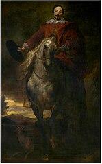 Equestrial Portrait of the Painter Cornelis de Wael