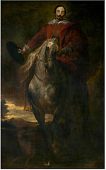 Anthony van Dyck - Equestrian portrait (formerly believed to be the painter Cornelis de Wael).jpg