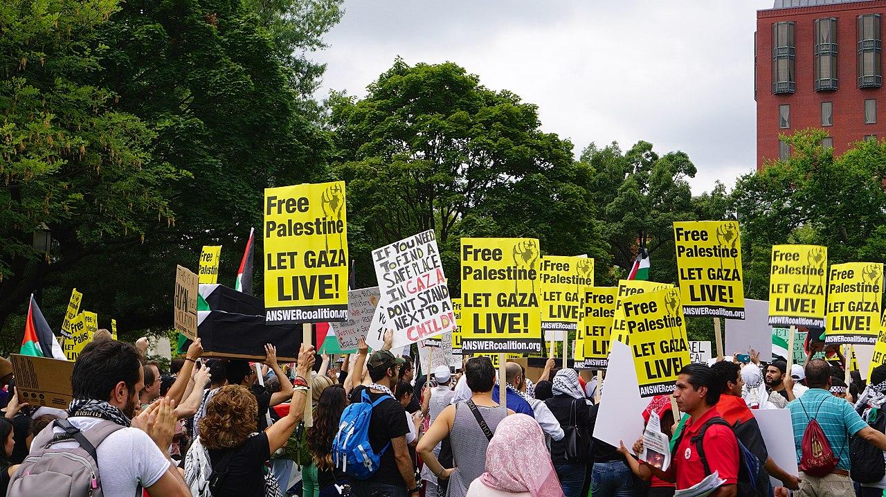 Anti-Israel Protest 45755 (14787886736).jpg