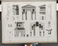 Antinoë (Antinoöpolis). Plan, élévation, coupes et détails de l'arc de triumphe (NYPL b14212718-1268153).tiff