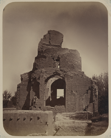 Antiquities of Samarkand. Mausoleum of Guri Bibi Khanym. General View of the Mausoleum WDL3732.png