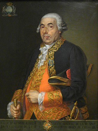Great Siege of Gibraltar - Spanish maritime commander Antonio Barceló