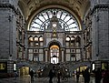 Antwerp, BE (DSC 0166) Antwerpen-Centraal railway station main hall.jpg