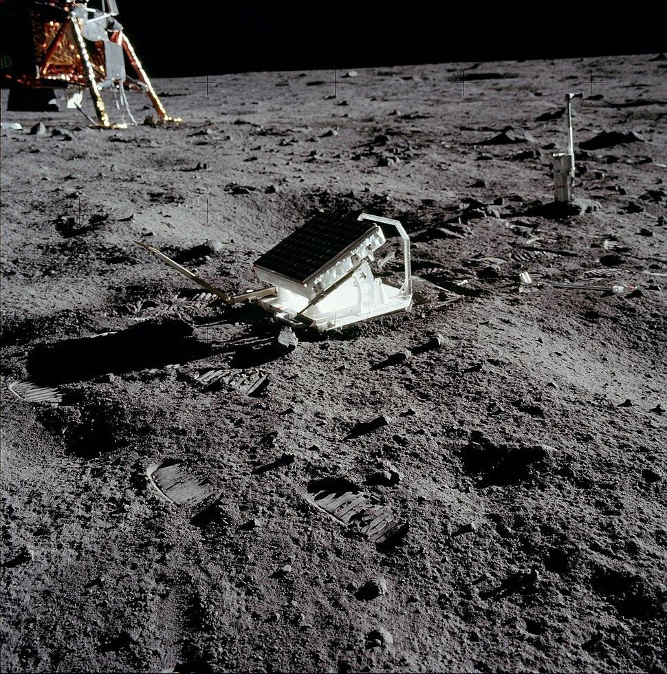 Apollo 11 Lunar Laser Ranging Experiment