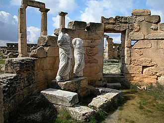Archaeological site - Image: Archaeological Site of Cyrene 109022