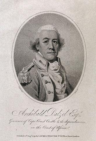 Archibald Dalzel - Archibald Dalzel - Governor of the Gold Coast by Johann Eckstein 1799