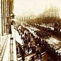 Archivo General de la Nación Argentina 1890 aprox Buenos Aires, procesión y vista del Cabildo anterior a la demolición parcial de su ala derecha.jpg
