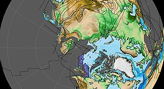 A terrane that includes parts of Alaska, Siberia and the continental shelf between them