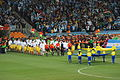 Argentina - Mexico match - the teams get in.jpg