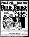 Arms and the Girl - 1917 - newspaper advert.jpg