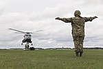 Army Air Corps Reserves train with Wildcat helicopters MOD 45164385.jpg
