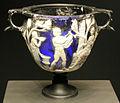 Arte romana, coppa da vino con scene di bacco e ariadne, 25ac-25 dc ca..JPG