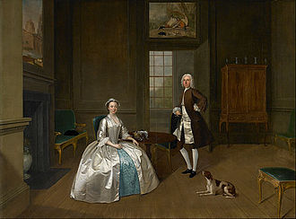 Walker Art Gallery - Arthur Devis - Mr and Mrs Atherton