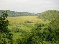 Ngurdoto Crater at Arusha National Park in Tanzania, East Africa.