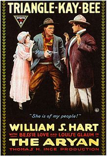 <i>The Aryan</i> 1916 silent Western film by William S. Hart, Reginald Barker, Clifford Smith