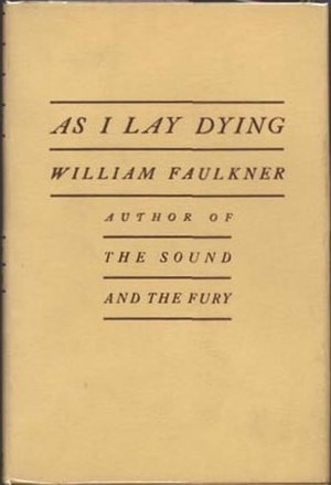 As I Lay Dying - First edition cover