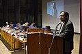 Asish Mazumdar Addressing - Inaugural Function - Bengali Wikipedia 10th Anniversary Celebration - Jadavpur University - Kolkata 2015-01-09 2520.JPG
