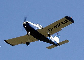 Aspect ratio (aeronautics) - Low aspect ratio wing (AR=5.6) of a Piper PA-28 Cherokee