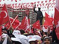 Ataturk statue warches over an Erdogan rally in Rize, April 3, 2017.jpg