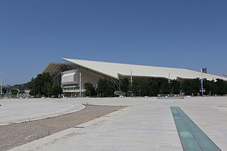 O.A.C.A. Olympic Indoor Hall - Image: Athens Olympic Indoor Hall exterior