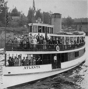 Atlanta (steamboat 1908) - Image: Atlanta (steamboat) in 1931