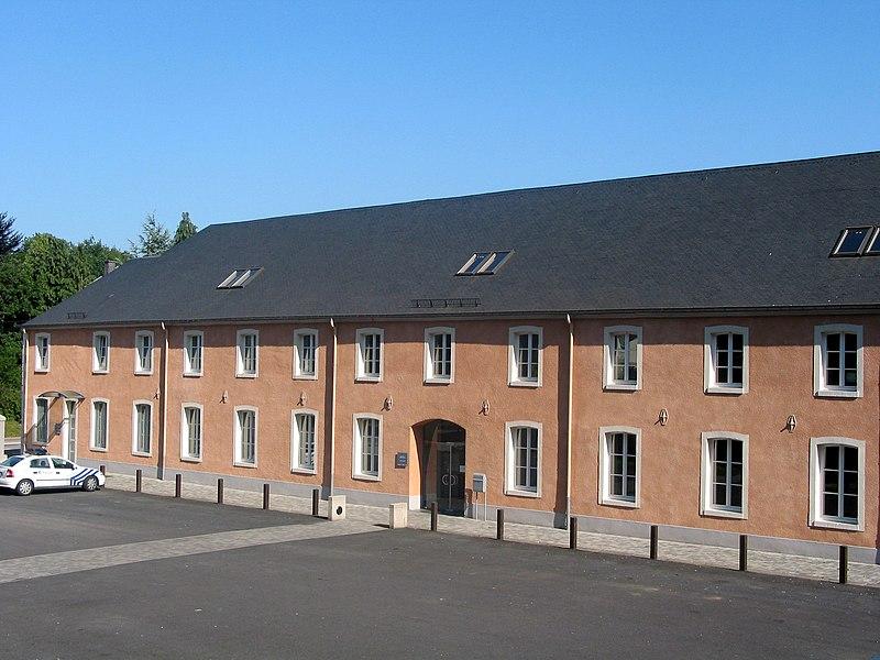 Attert (Belgium), rue voie de la Liberté - The city hall.